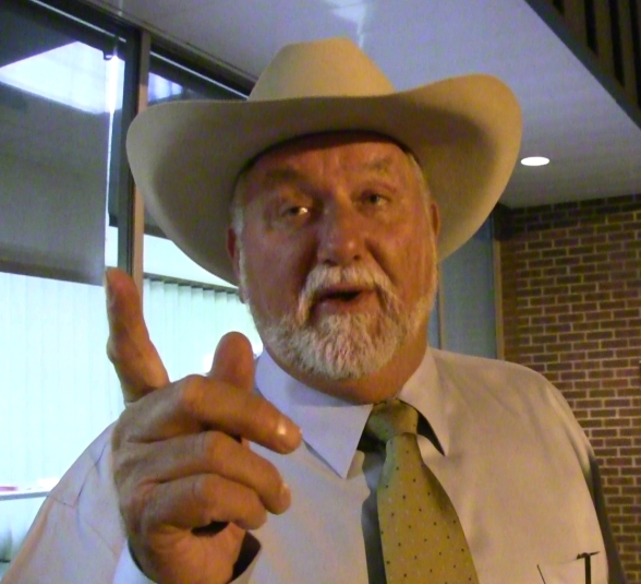 Larry Boggs:  District 7. Oklahoma State Senator. Republican.